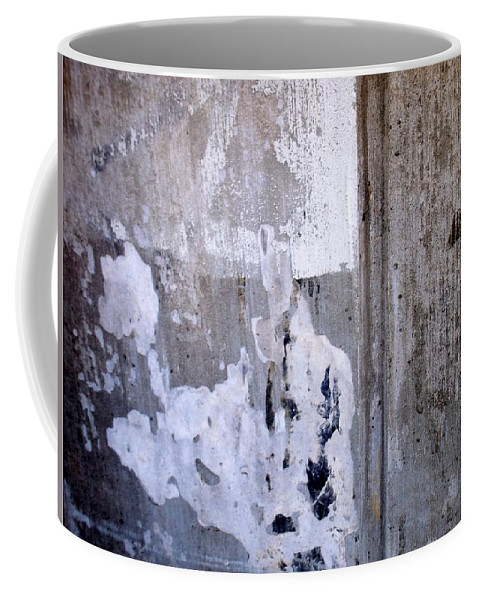 Industrial. Urban Coffee Mug featuring the photograph Abstract Concrete 6 by Anita Burgermeister