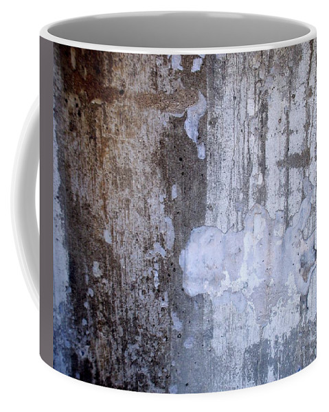 Industrial. Urban Coffee Mug featuring the photograph Abstract Concrete 8 by Anita Burgermeister
