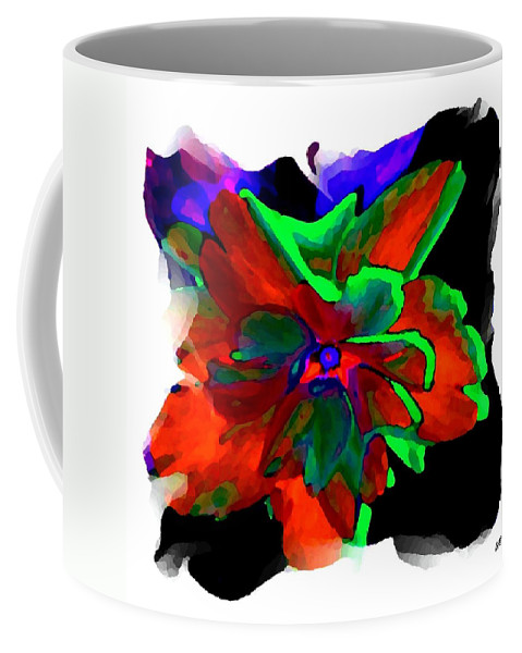 Abstract Coffee Mug featuring the digital art Abstract Elegance by Will Borden