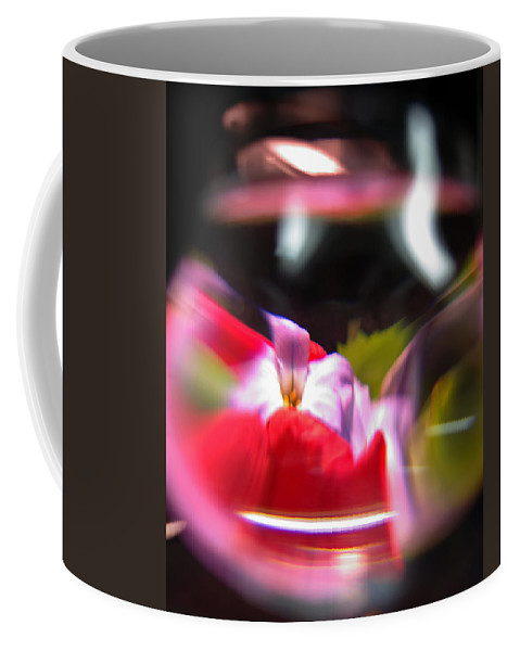 Abstract Coffee Mug featuring the photograph Abstract Flowers Part Two by Scott Wyatt