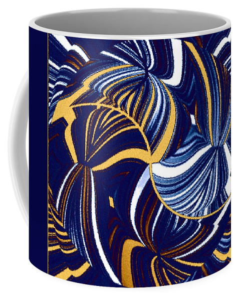 Abstract Coffee Mug featuring the digital art Abstract Fusion 279 by Will Borden