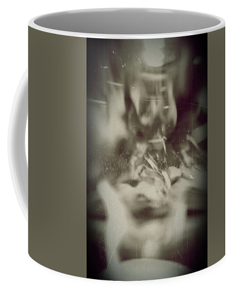 Abstract Coffee Mug featuring the photograph Abstract Glass by Scott Wyatt