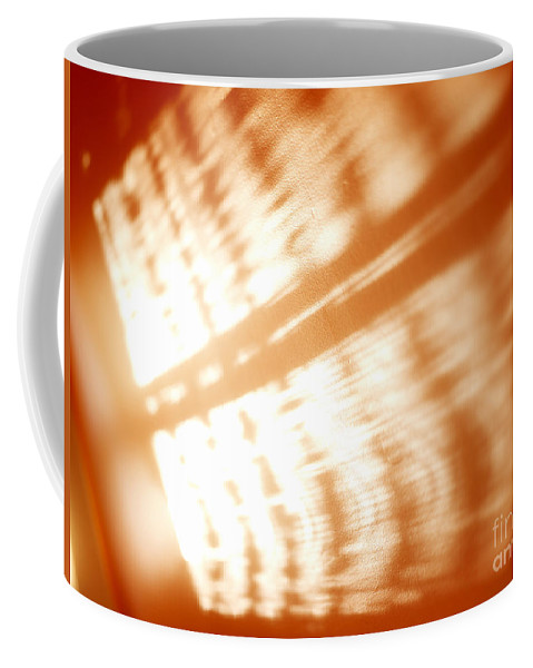 Abstract Coffee Mug featuring the photograph Abstract Light Rays by Tony Cordoza