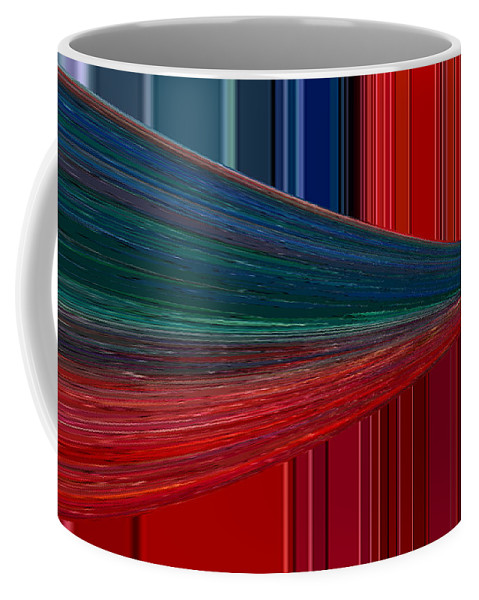 Abstract Coffee Mug featuring the photograph Abstract Pipeline by Jeff Swan