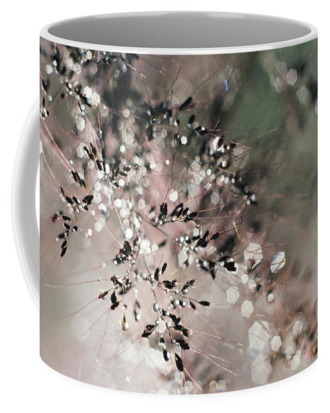 Blur Coffee Mug featuring the photograph Abstract Plant by Larry Dale Gordon - Printscapes