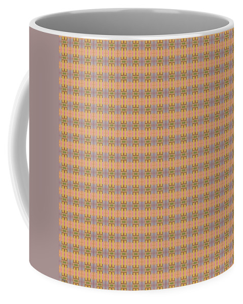 Art Coffee Mug featuring the painting Abstract Square 102 by Patrick J Murphy