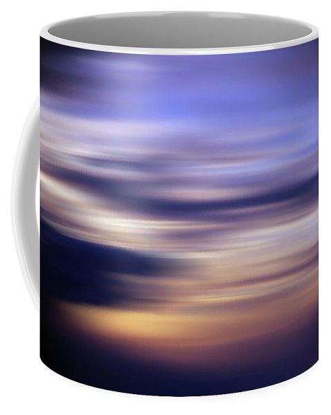 Sunset Coffee Mug featuring the photograph Abstract Sunset by CT Decorative Photography