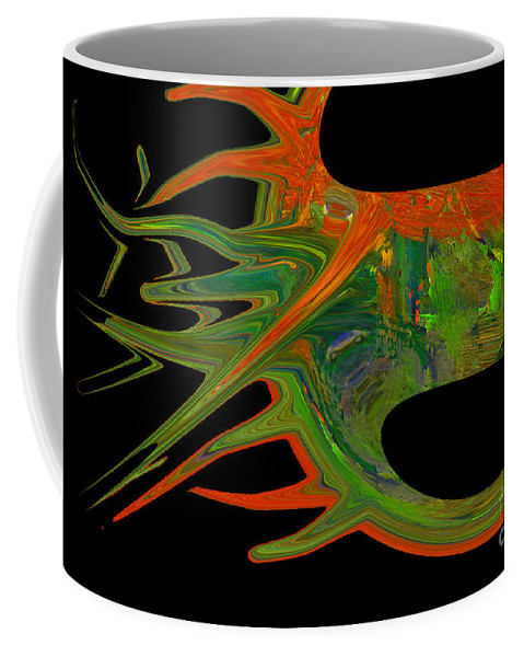 Abstract Coffee Mug featuring the photograph Abstract Tenticles by Jeff Swan