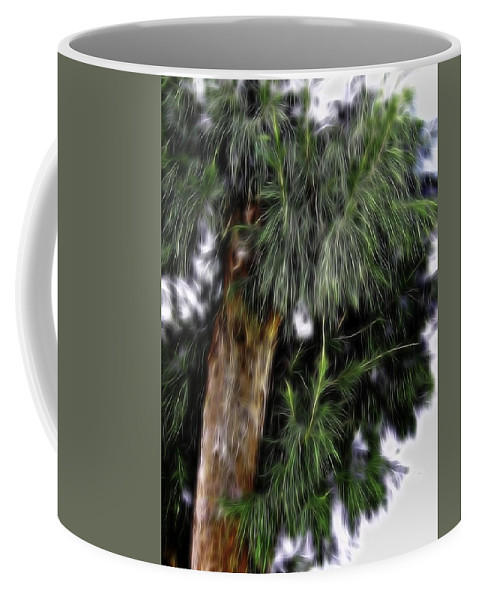 Abstract Coffee Mug featuring the photograph Abstract Tree 8 by Kristalin Davis