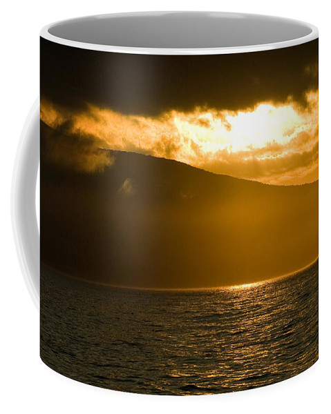 Sunset Coffee Mug featuring the photograph Acadia National Park Sunset by Sebastian Musial