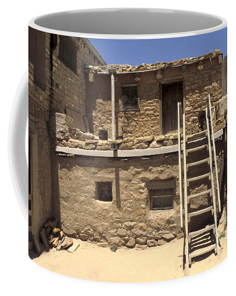 Acoma Coffee Mug featuring the photograph Acoma Pueblo by Jerry McElroy