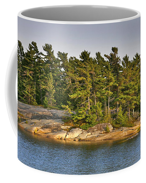 Canada Coffee Mug featuring the photograph Across The Bay by Phill Doherty