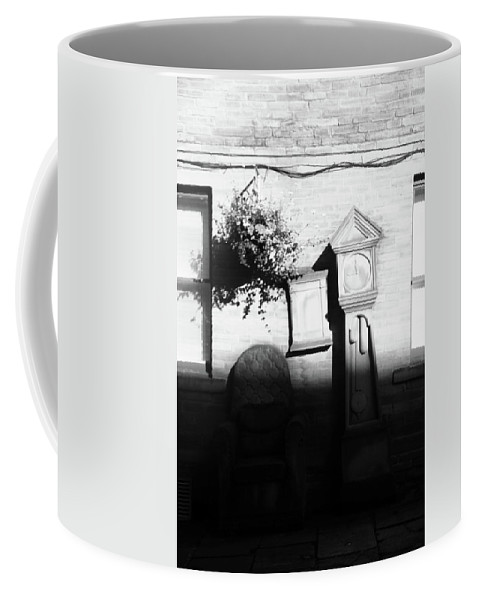 Coffee Mug featuring the photograph Ad It Stopped by Jez C Self