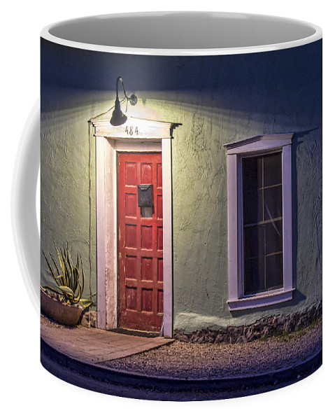 Tucson Coffee Mug featuring the photograph Adore Of The Barrio by Ryan Seek