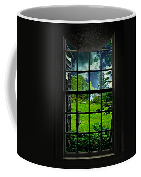 Historic Coffee Mug featuring the photograph After A Rain by Mark Sellers