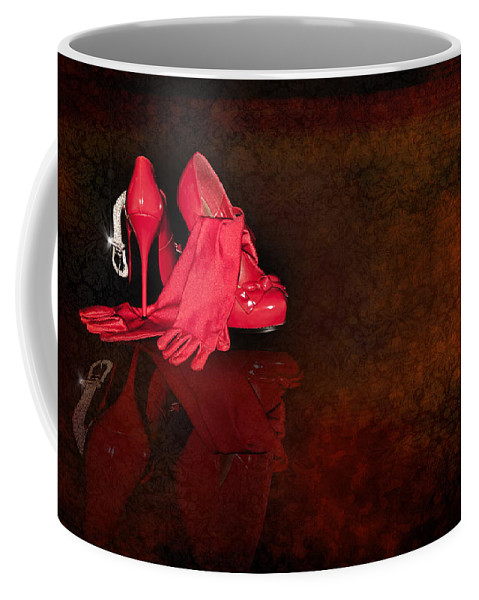Stockings Coffee Mug featuring the photograph After... by Svetlana Sewell