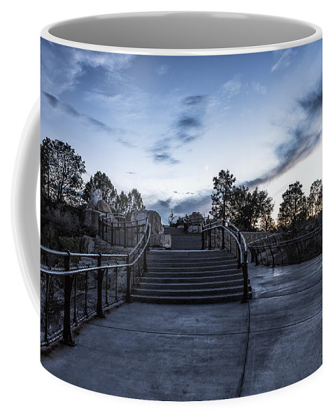 Stairs Coffee Mug featuring the photograph After The Crowds Have Left by Belinda Greb