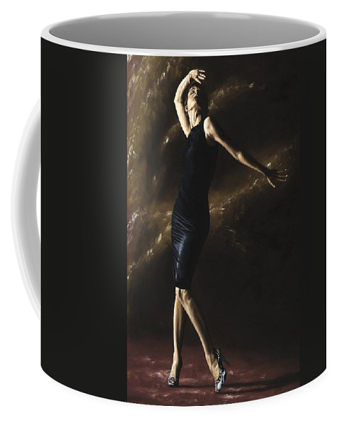Dance Coffee Mug featuring the painting After The Dance by Richard Young