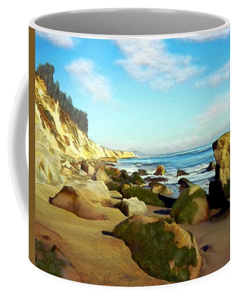 Ocean Coffee Mug featuring the photograph After The Fog Gaviota by Kurt Van Wagner