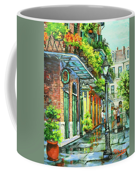 Louisiana Art Coffee Mug featuring the painting After The Rain by Dianne Parks