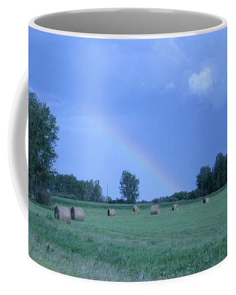 Scene Coffee Mug featuring the photograph After The Rain by Mary Mikawoz