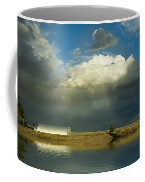 Storm Coffee Mug featuring the photograph After The Storm by Jerry McElroy