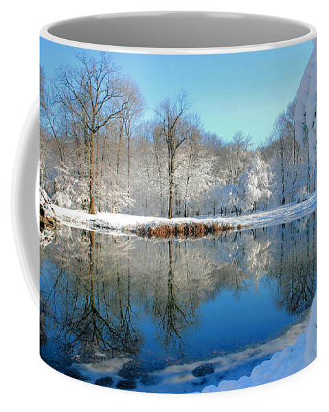 Lake Coffee Mug featuring the photograph After The Storm by Kristin Elmquist