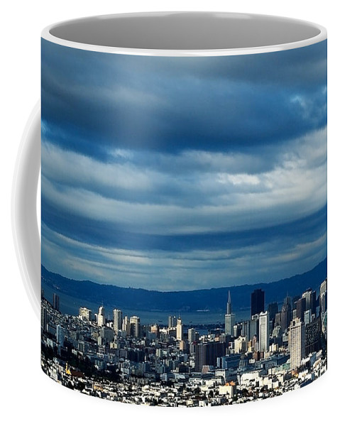 Storm Coffee Mug featuring the photograph After The Storm by Mick Burkey