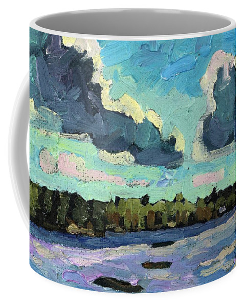 1770 Coffee Mug featuring the painting Afternoon Cold Front by Phil Chadwick