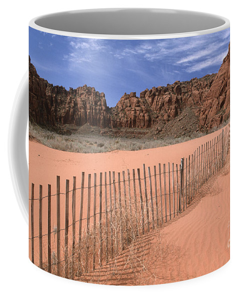 Southwest Coffee Mug featuring the photograph Afternoon In Snow Canyon by Sandra Bronstein