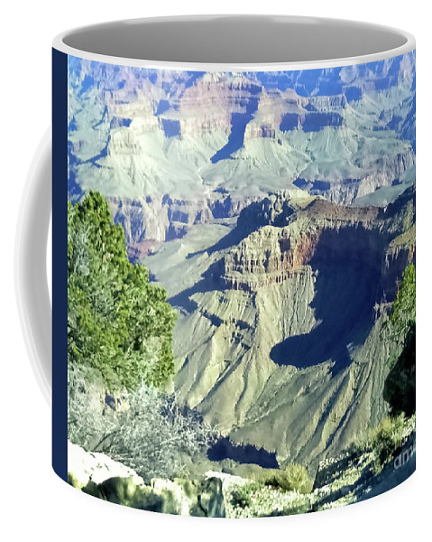 Landscape Coffee Mug featuring the photograph Afternoon View Grand Canyon by James Fannin