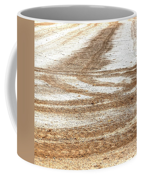 Ag Coffee Mug featuring the photograph Ag Brushstrokes Sq by Jerry Sodorff