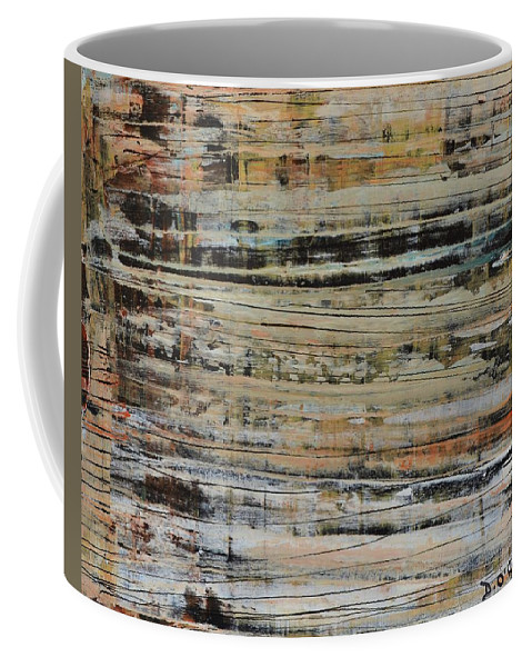 Coffee Mug featuring the painting Against The Grain by Declan O'Reilly