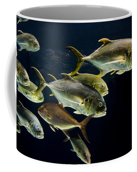 Water Coffee Mug featuring the photograph Against The Tide by Ches Black