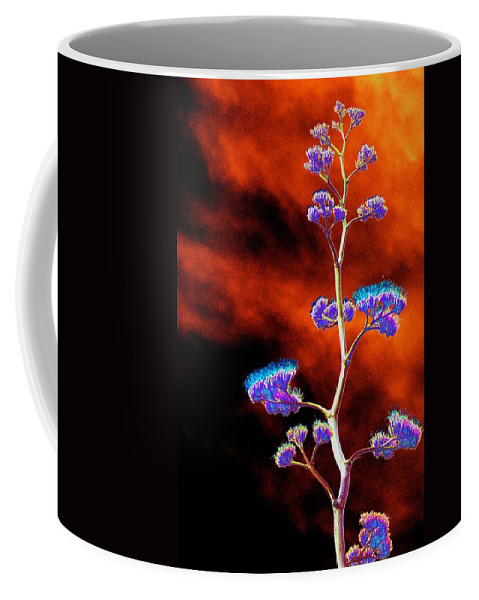 Agave Coffee Mug featuring the photograph Agave Through Tequila Eyes by Richard Henne