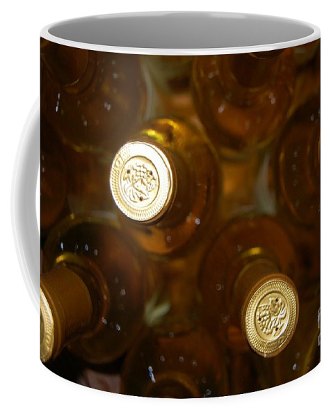 Wine Coffee Mug featuring the photograph Aged Well by Debbi Granruth