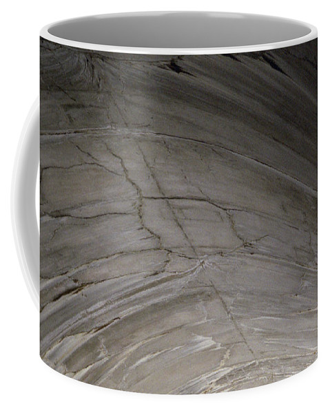 Concrete Coffee Mug featuring the photograph Aging Aggregate by Richard Rizzo
