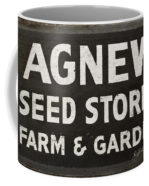 Agnew Coffee Mug featuring the photograph Agnew Seeds Roanoke Virginia by Teresa Mucha