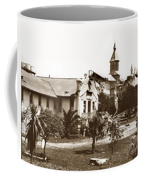 Agnew Coffee Mug featuring the photograph Agnews State Hospital San Jose Calif. 1906 by California Views Archives Mr Pat Hathaway Archives