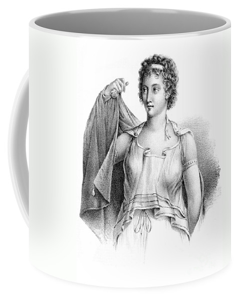 Science Coffee Mug featuring the photograph Agnodice, Ancient Greek Physician, 4th by Wellcome Images
