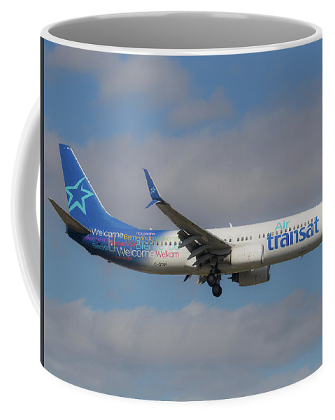 Air Transit Coffee Mug featuring the photograph Air Transit by Dart and Suze Humeston