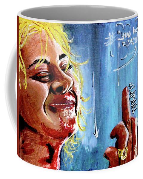 Films Coffee Mug featuring the painting Alabama by eVol i