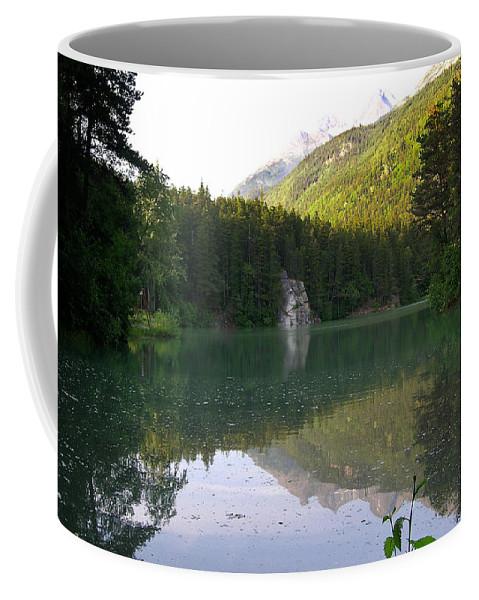 Alaska Coffee Mug featuring the photograph Alaskan Lake by Douglas Barnett