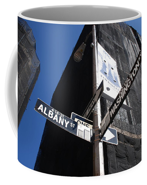 Architecture Coffee Mug featuring the photograph Albany And Washington by Rob Hans