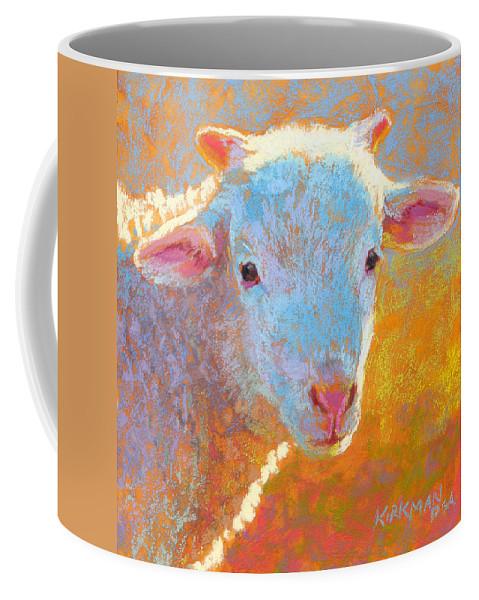 Rita Kirkman Coffee Mug featuring the pastel Albin by Rita Kirkman
