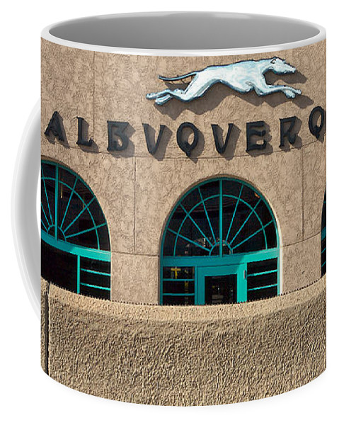 Lawrence Coffee Mug featuring the photograph Albuquerque Hound by Lawrence Boothby