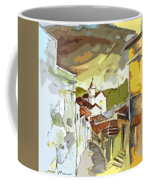 Portugal Paintings Coffee Mug featuring the painting Alcoutim Portugal 06 Bis by Miki De Goodaboom