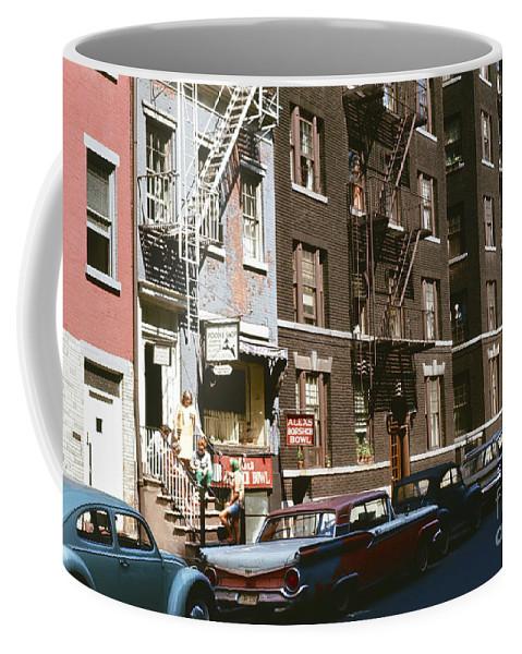 Manhattan Coffee Mug featuring the photograph Alex's Borshch Bowl by Oleg Konin