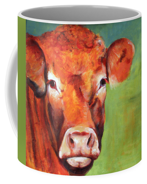Limousine Coffee Mug featuring the painting Alice by Fiona Jack