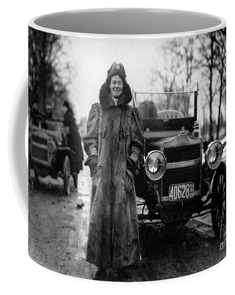 History Coffee Mug featuring the photograph Alice Huyler Ramsey, American by Science Source